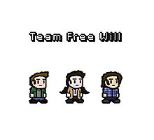 Pixel Team Free Will Photographic Print