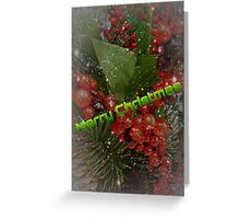 Another 'Merry Christmas' Card Greeting Card