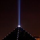 The Luxor spotlight, Las Vegas, Nevada by Henry Plumley