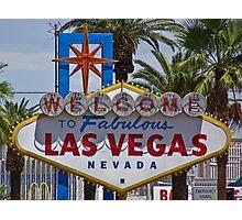 Las Vegas Sign Photographic Print
