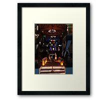 The colours and light of the night - Los colores y la luz de la noche Framed Print
