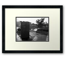 Shadow Of Heroes Framed Print