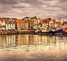 Pittenweem Harbour...Please View Larger by Don Alexander Lumsden (Echo7)