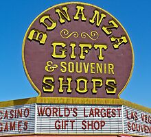 Bonanza Gift Shop Sign by Henry Plumley