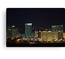 MGM City Center at Night Canvas Print