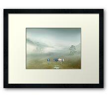 Villager Framed Print