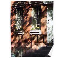 Window Boxes Greenwich Village Poster