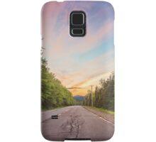 Sunset Landscape Samsung Galaxy Case/Skin
