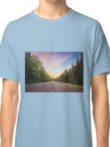 Sunset Landscape Classic T-Shirt