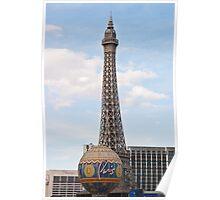 Eiffel Tower Paris Hotel Casino Poster