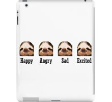Sloth Emotions iPad Case/Skin