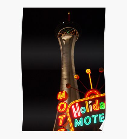 Stratosphere and Holiday Motel Poster