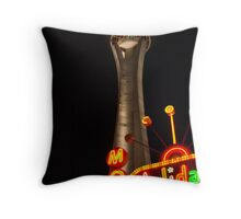 Stratosphere and Holiday Motel Throw Pillow
