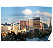 Las Vegas Strip Sunset Poster