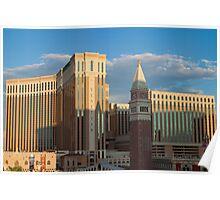 Venetian Hotel Las Vegas at Sunset  Poster