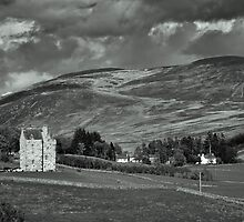 Forter Castle by dgscotland