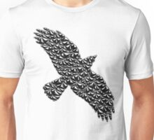 Metallic Crow Unisex T-Shirt