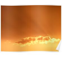 """""""Sunset Heaven""""  Cossington Meadows, Leicestershire Poster"""