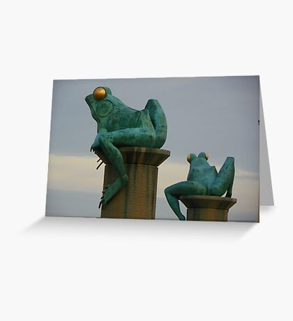 Frogs 06226 Greeting Card