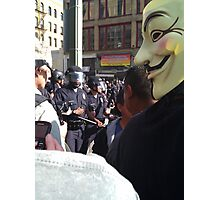 Occupy Wall Street Photographic Print