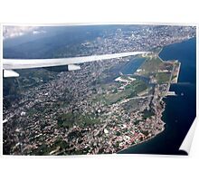 Cebu from the Air Poster