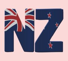 New Zealand flag by stuwdamdorp