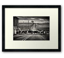 Cattle Crossing Framed Print