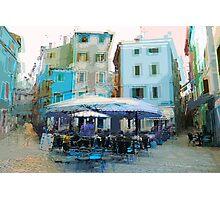The Essence of Croatia -  Italian Cafe Photographic Print