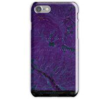 USGS Topo Map Washington State WA Brief 240230 1968 24000 Inverted iPhone Case/Skin