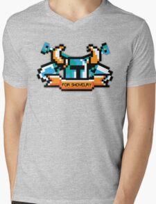 For Shovelry Mens V-Neck T-Shirt