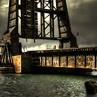 Railway Bridge Mood by JKKimball