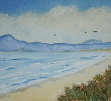 The Beach by Marilyn O'Loughlin