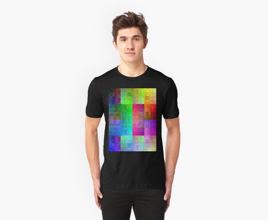 Hilbert curve colour by philbotic