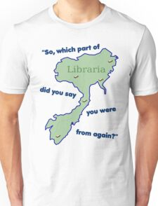 From Libraria Unisex T-Shirt