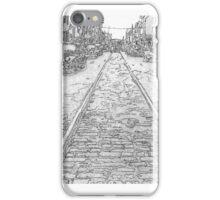 002-12th Street Phila.,PA   1954 iPhone Case/Skin