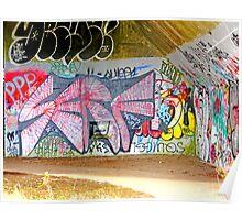 Brooklyn Graffiti Poster