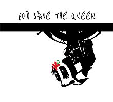 GLADoS God Save the Queen (Flower) Photographic Print