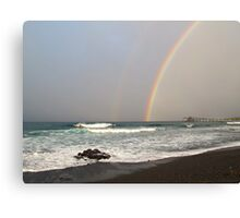 Double Bow Canvas Print