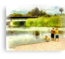 Brothers, Best Friends Canvas Print