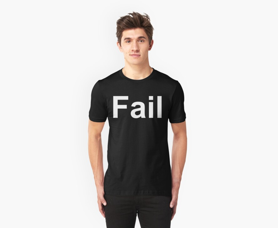 Fail (Reversed Colours) by NiteOwl