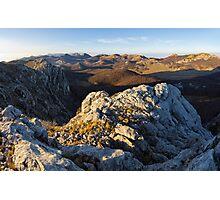 Top of the Velebit Photographic Print