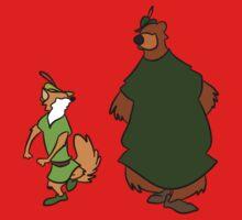 Robin Hood and Little John Kids Tee