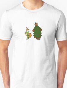 Robin Hood and Little John Unisex T-Shirt