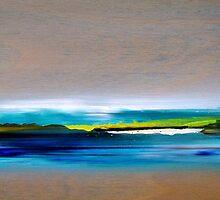 Soul Flight 10, 2011, Oil/Wood, 20 x 40 cm by Christian v. Grumbkow