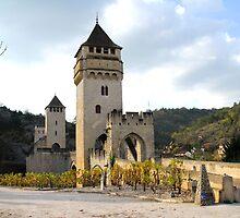 Pont Valentré, Cahors by triciamary