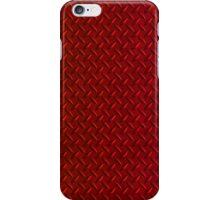 Red Diamond Plate (iPhone case) iPhone Case/Skin