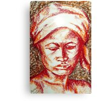 Untitled - female depiction Canvas Print