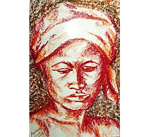 Untitled - female depiction Photographic Print