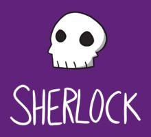Sherlock - White Lettering by sherbear