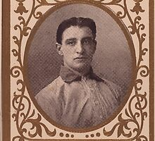 Benjamin K Edwards Collection Jimmy Archer Chicago Cubs baseball card portrait by wetdryvac